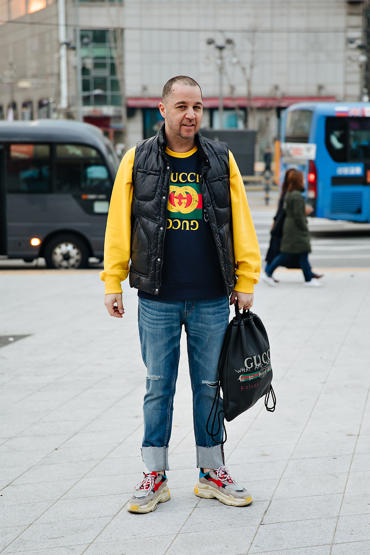 Sam, SEOUL FASHION WEEK STREETWEAR MENS 2018FW