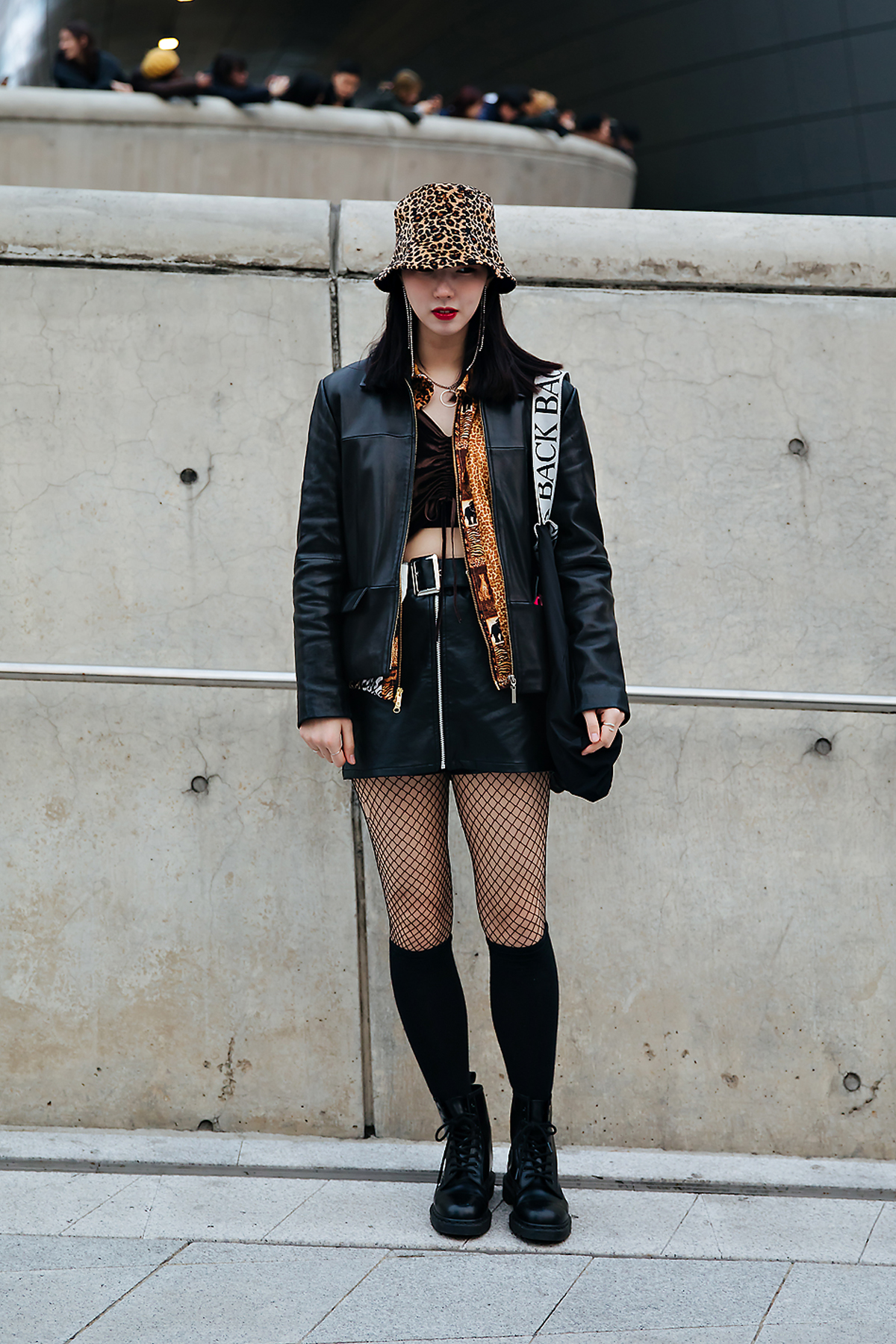 Seo Haeun, SEOUL FASHION WEEK STREETWEAR WOMENS 2018FW