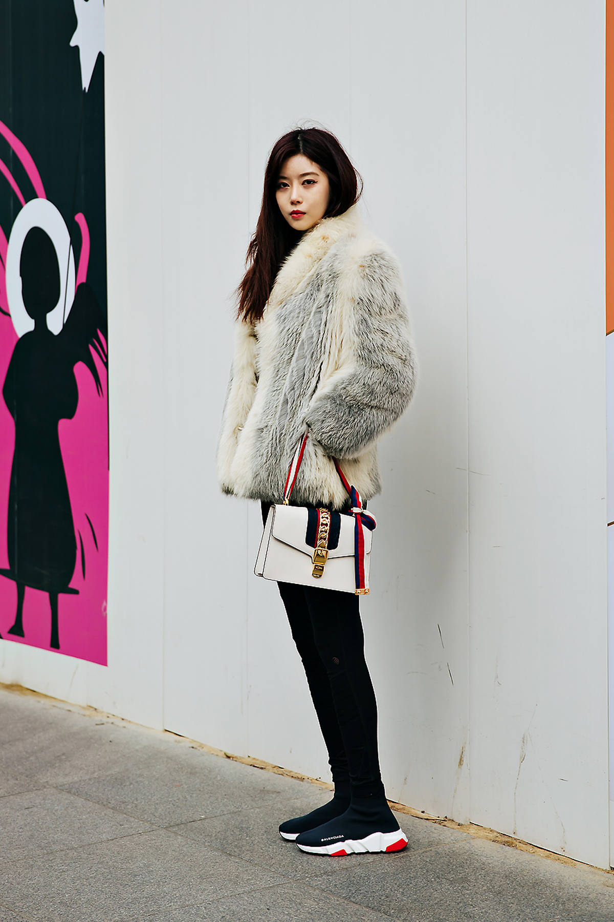 Song Nayoung, Street style women winter 2017-2018 inseoul