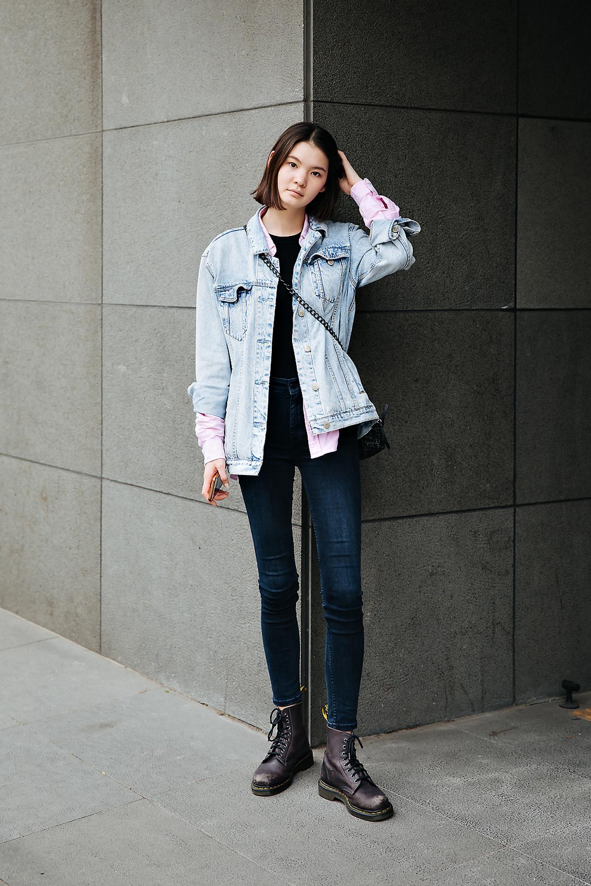 Tia, Street style women spring 2018 in seoul
