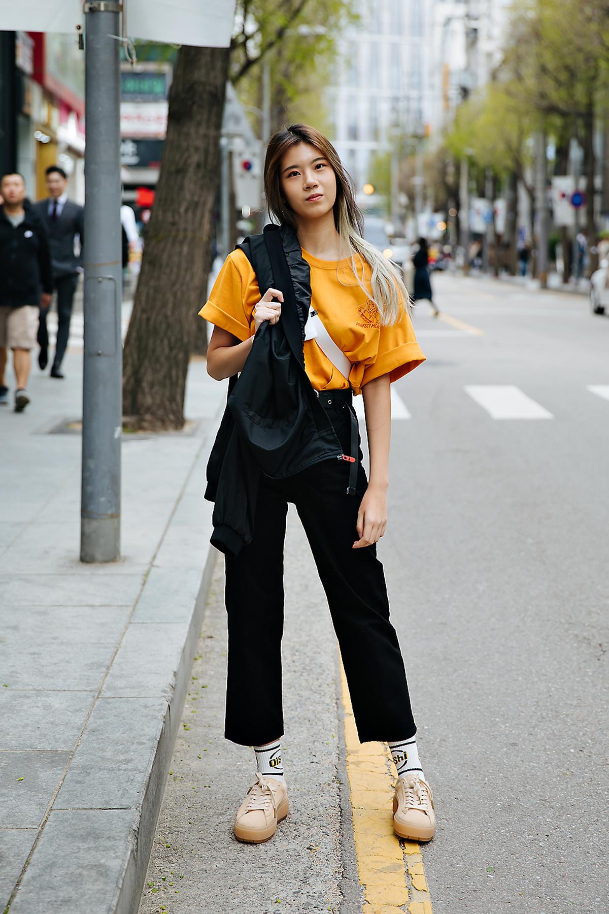 Wanyi, Street style women spring 2018 in seoul