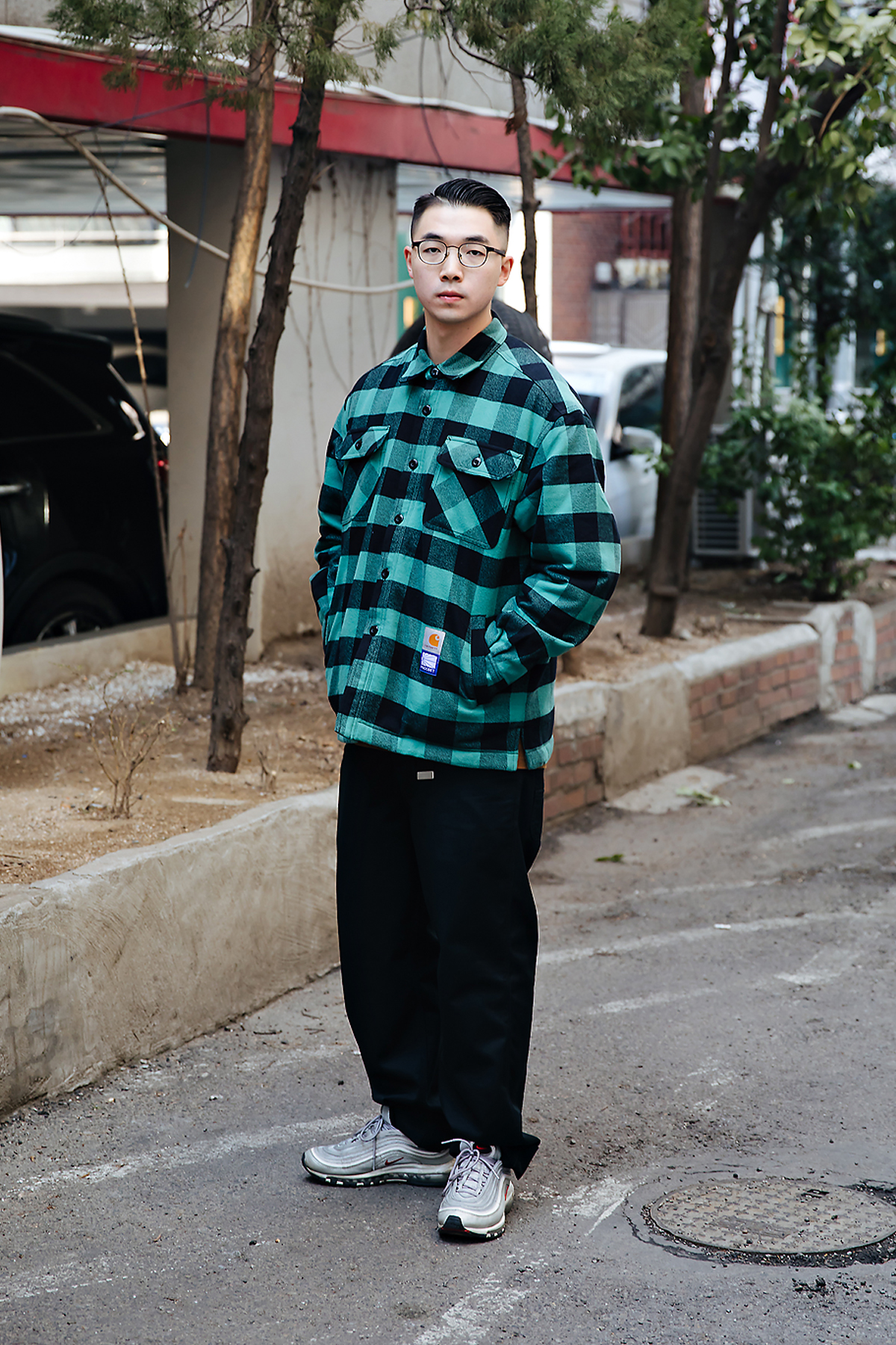 WANZ ZHENG, Street style men winter 2017-2018 in seoul