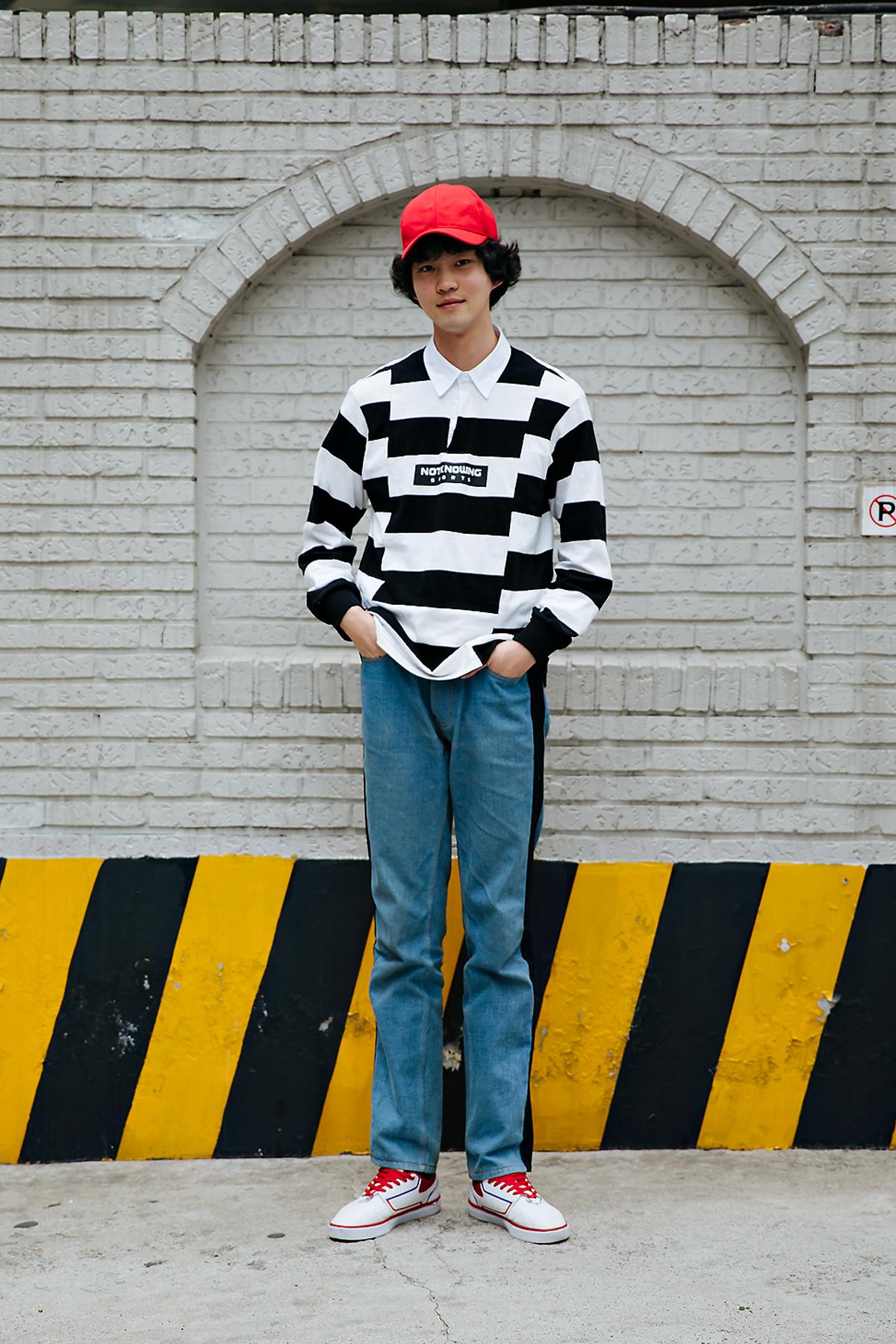 Woo Chan, Street style men spring 2018 inseoul