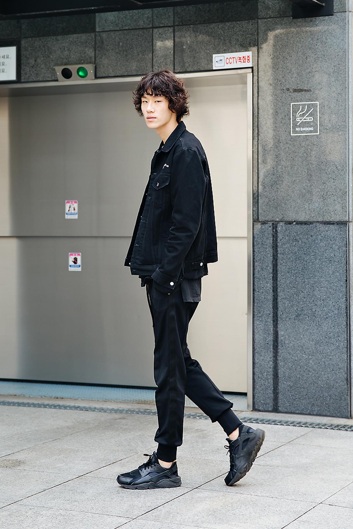 Woo Hyunjae, Street style men spring 2018 inseoul