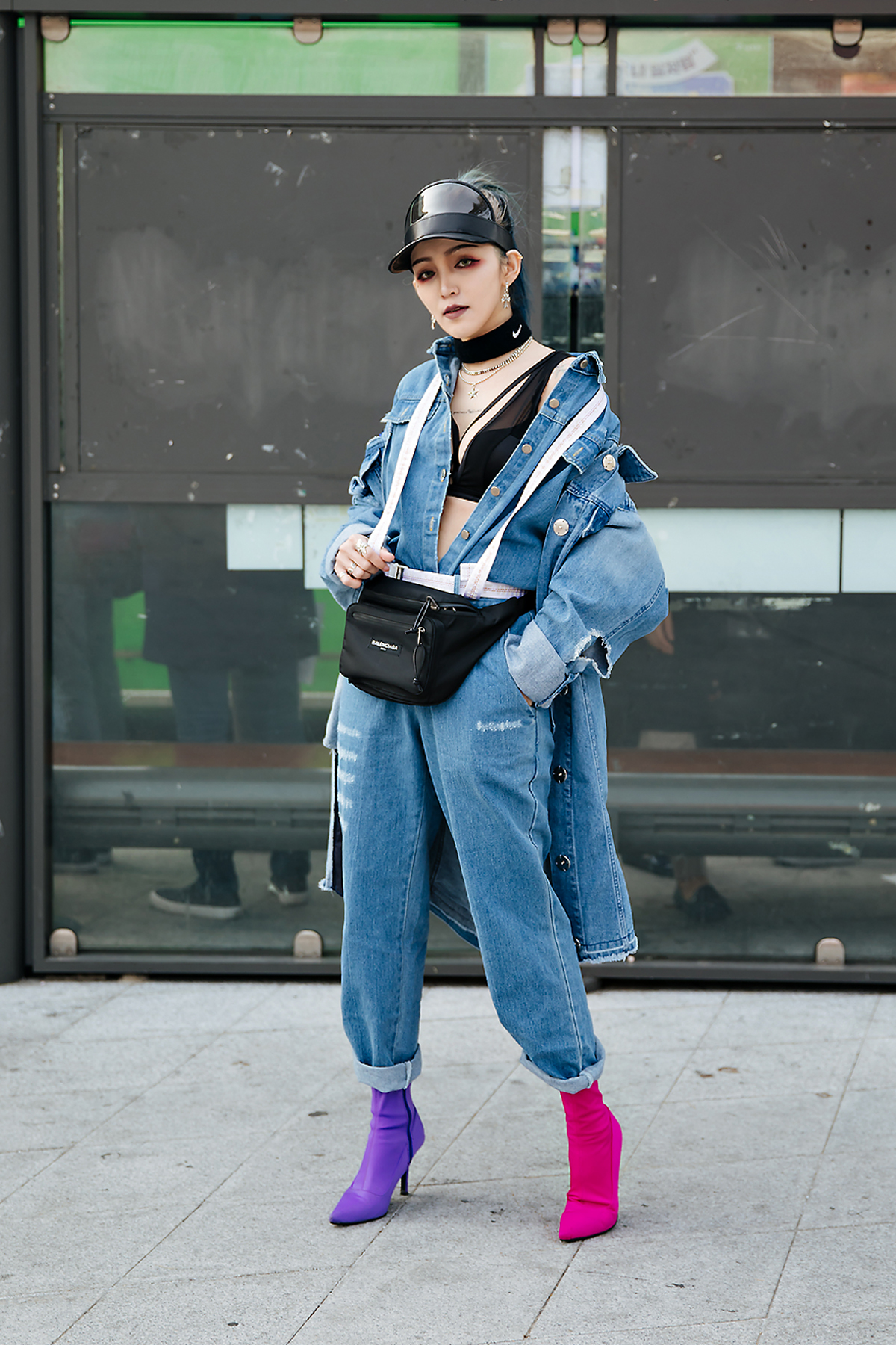 Wrj_rainbow, SEOUL FASHION WEEK STREETWEAR WOMENS 2018FW