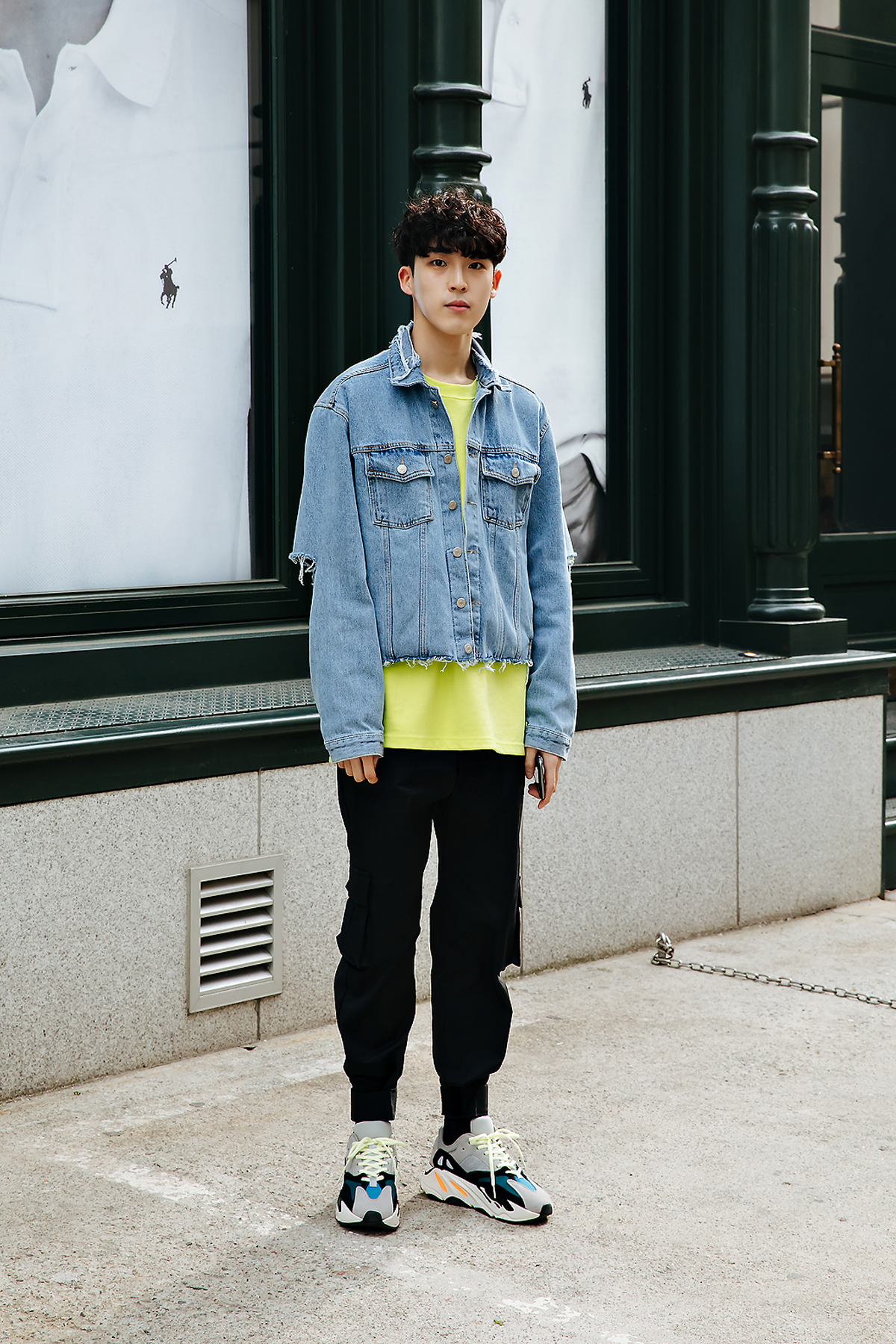 Yang Jaeyoung, Street style men spring 2018 in seoul