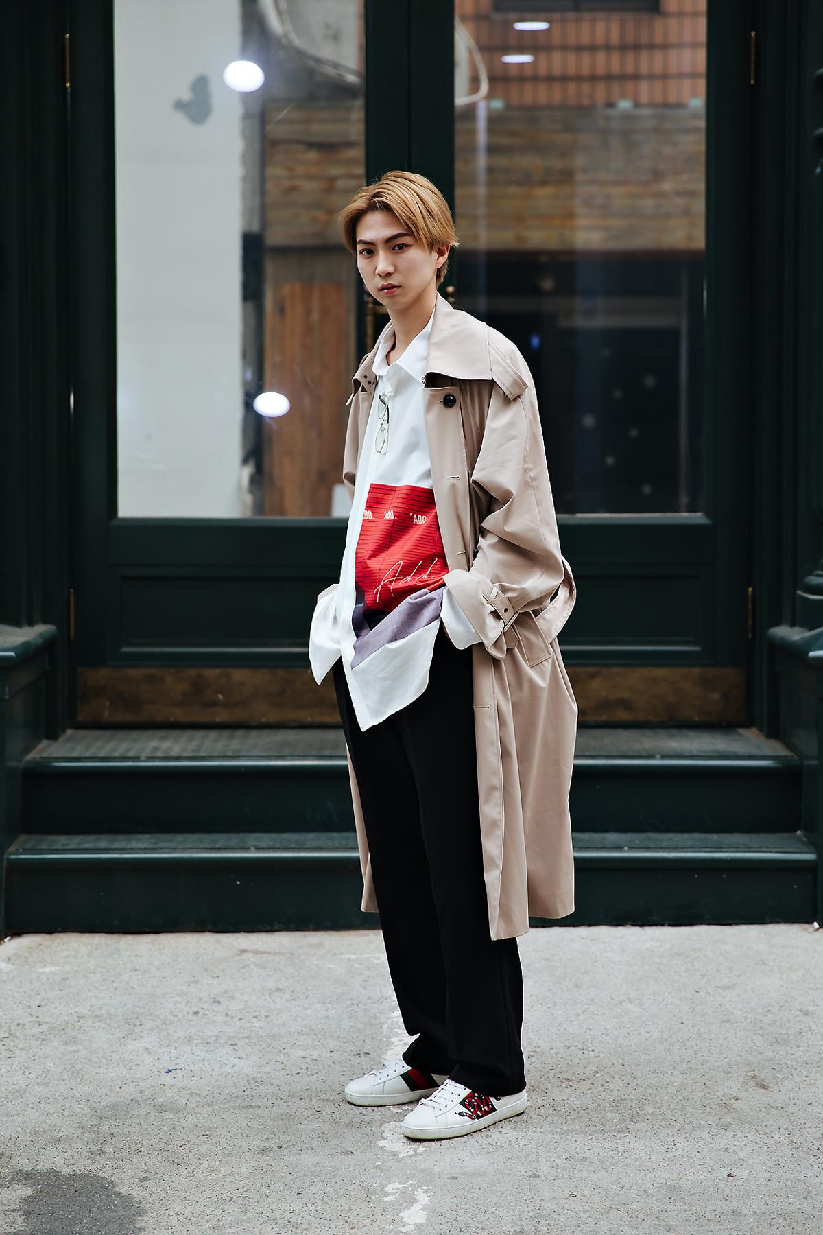 Yukiaoki, Street style men spring 2018 inseoul