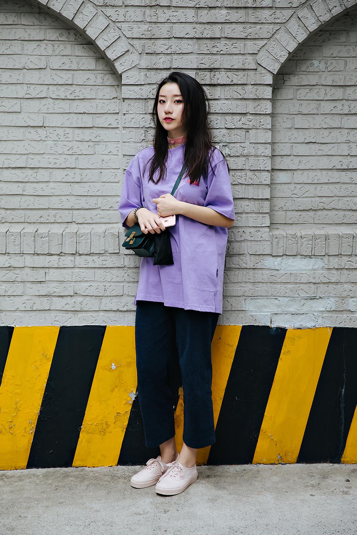 Zhao Xiaoxuan, Street style women spring 2018 in seoul