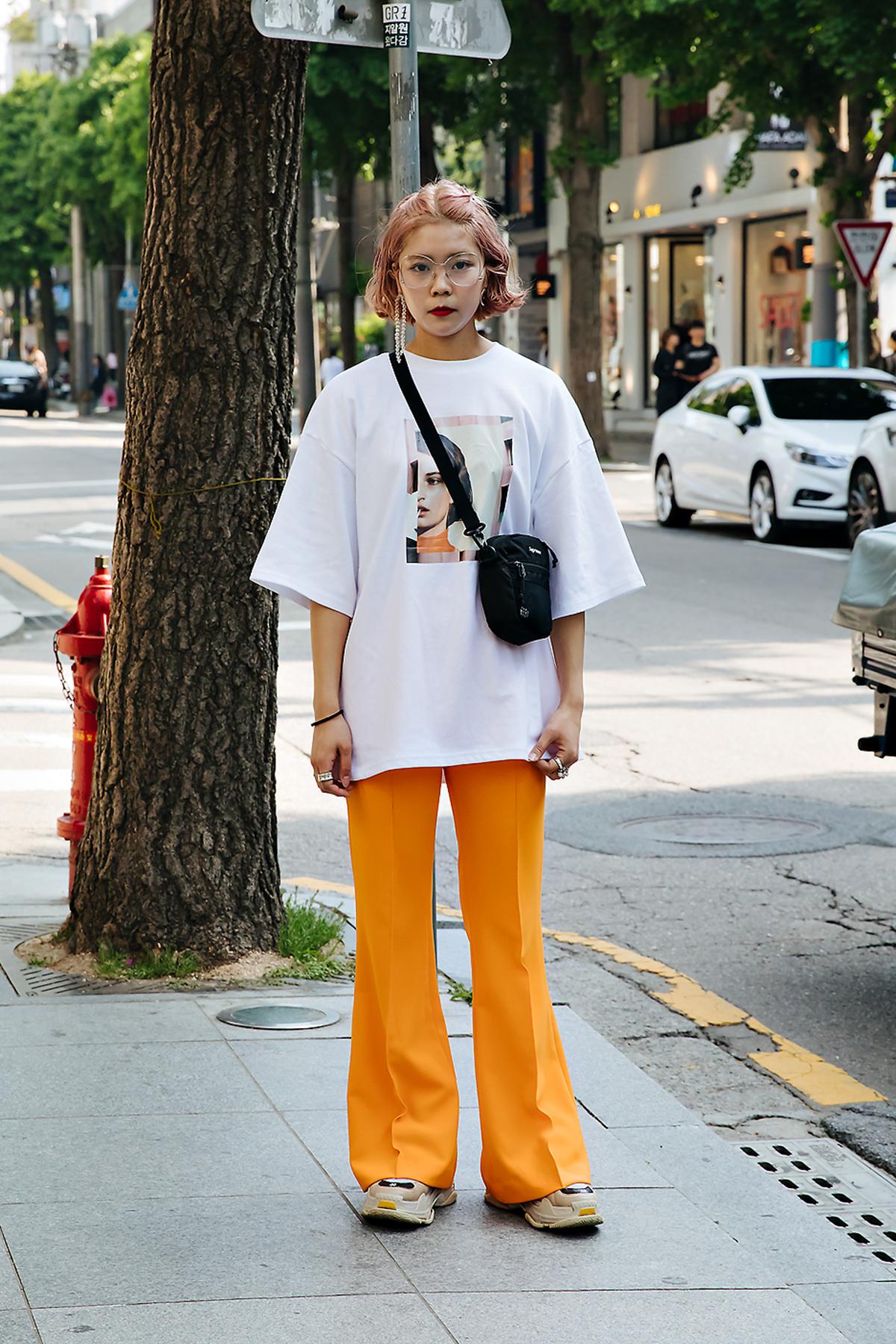 Akanee, Street style women spring 2018 in seoul