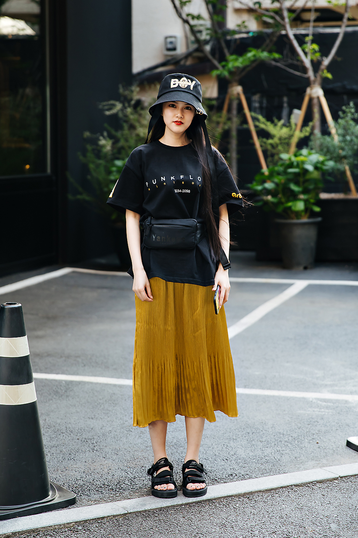Cecilia, Street style women spring 2018 in seoul