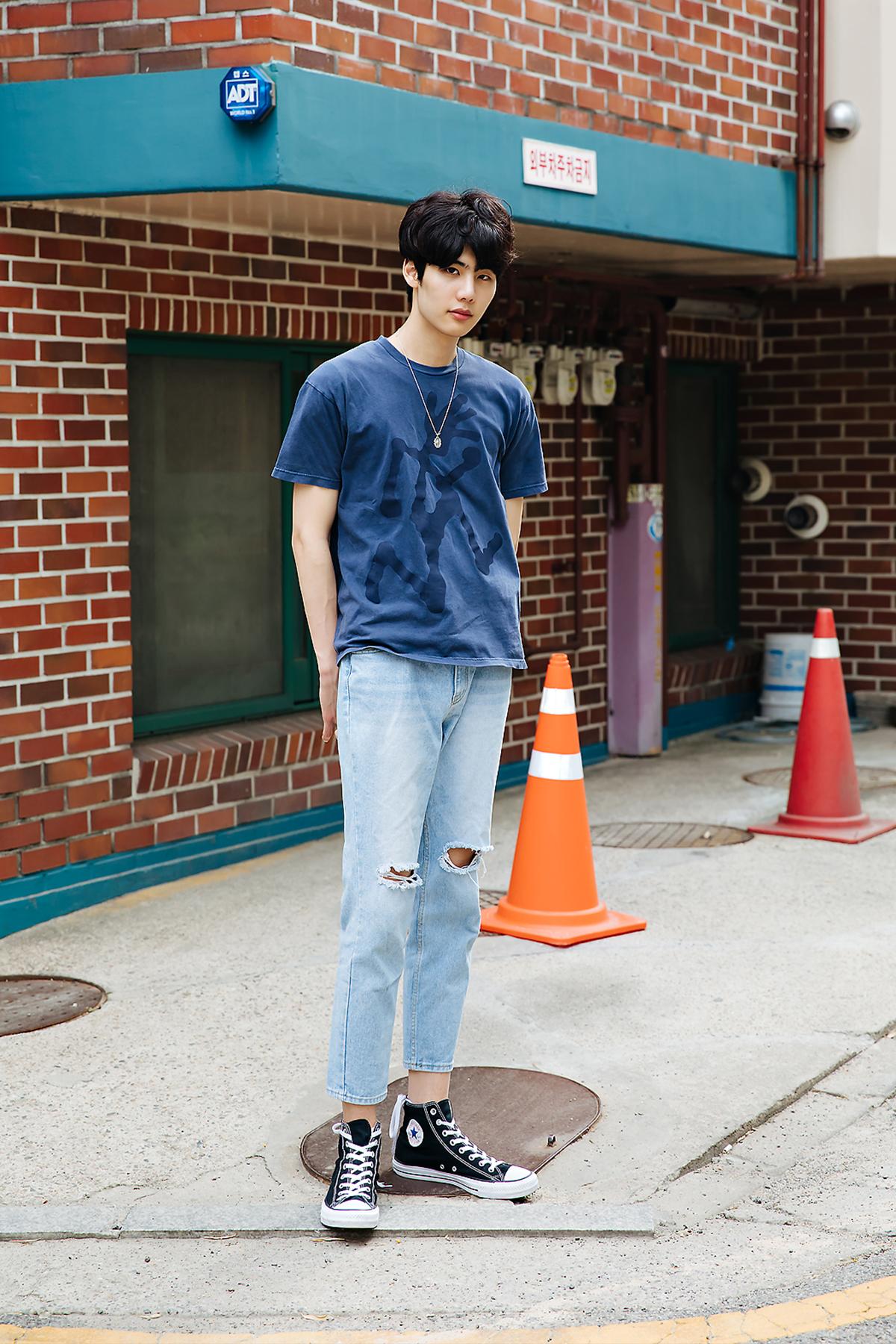 Choi Jaewon, Street style men spring 2018 inseoul