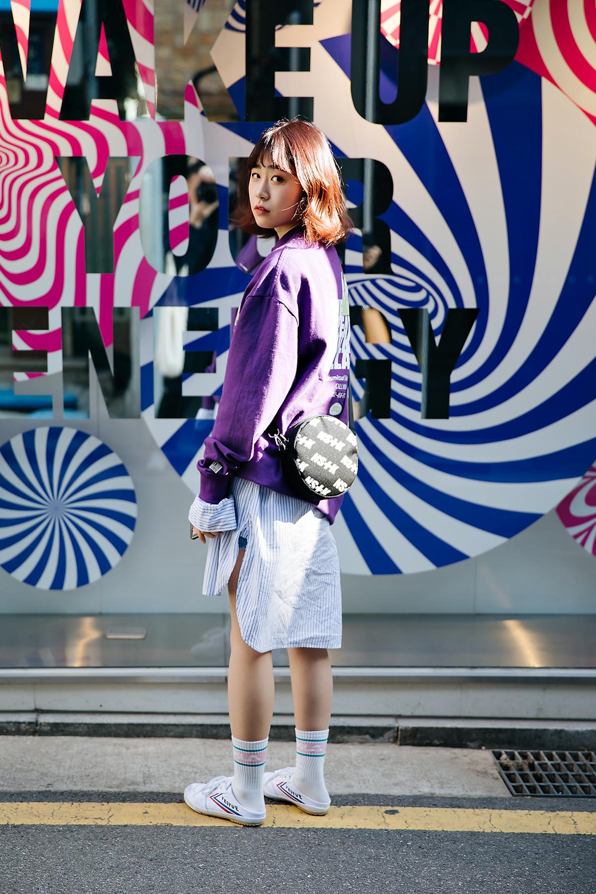 Choi Jungsun, Street style women spring 2018 in seoul