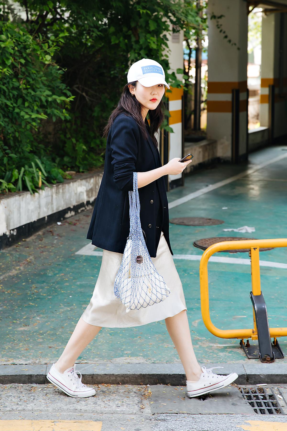 Choi Yoonjung, Street style women spring 2018 in seoul