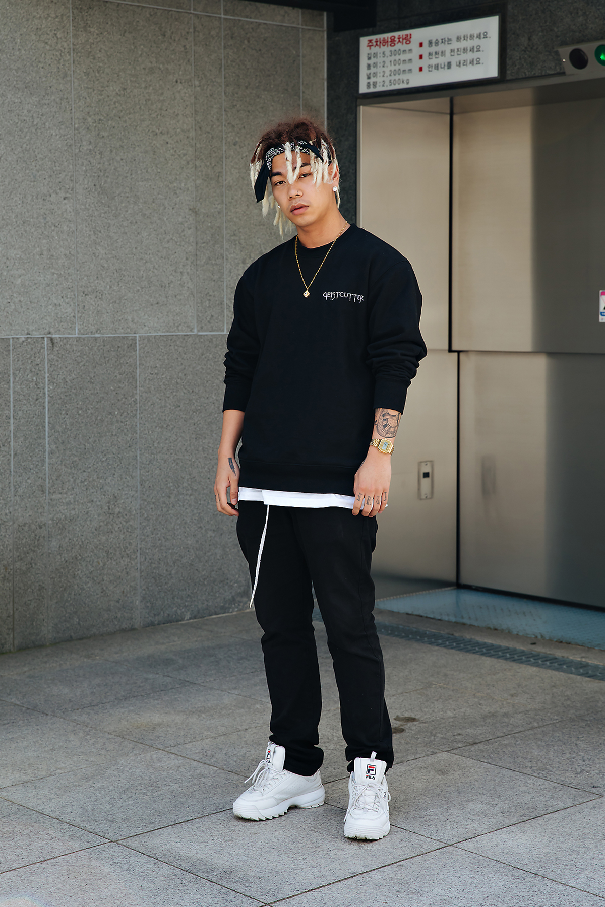 Chris, Street style men spring 2018 in seoul