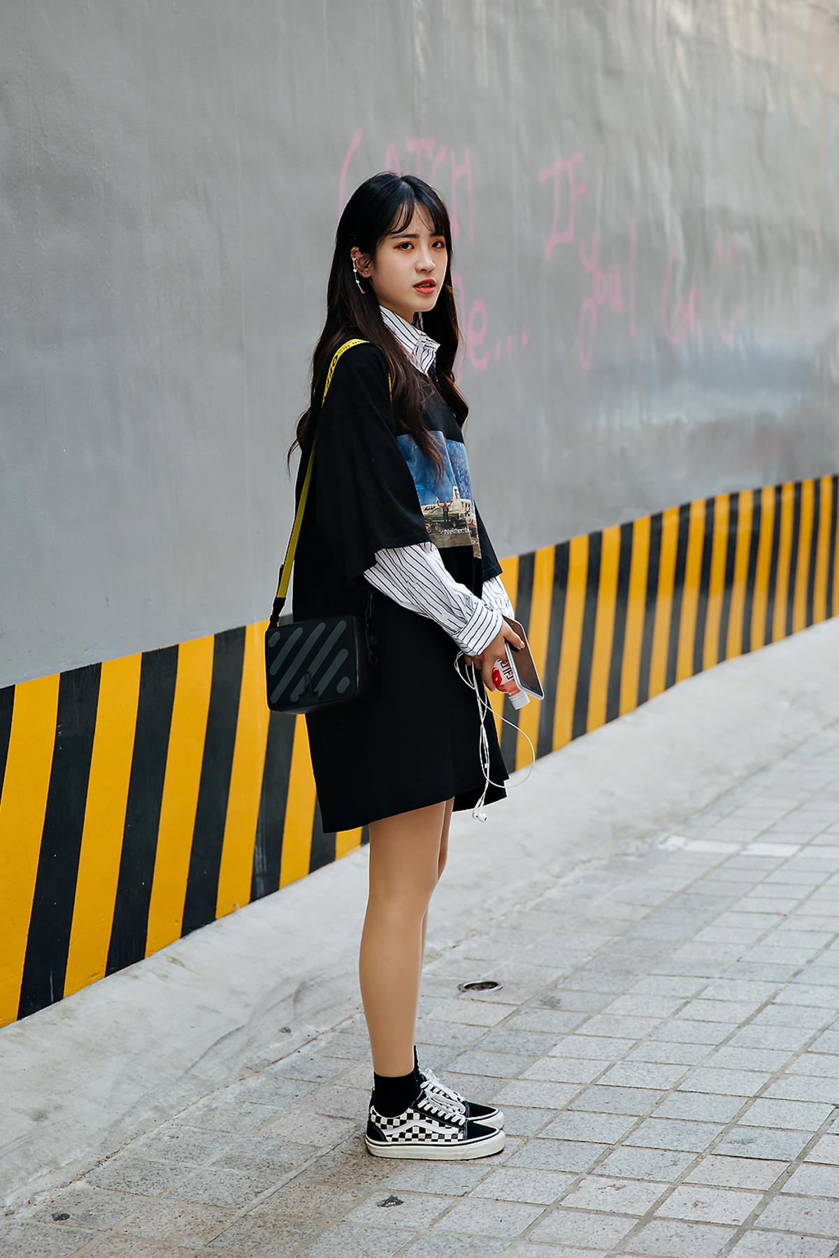 Fah Sarika, Street style women spring 2018 in seoul