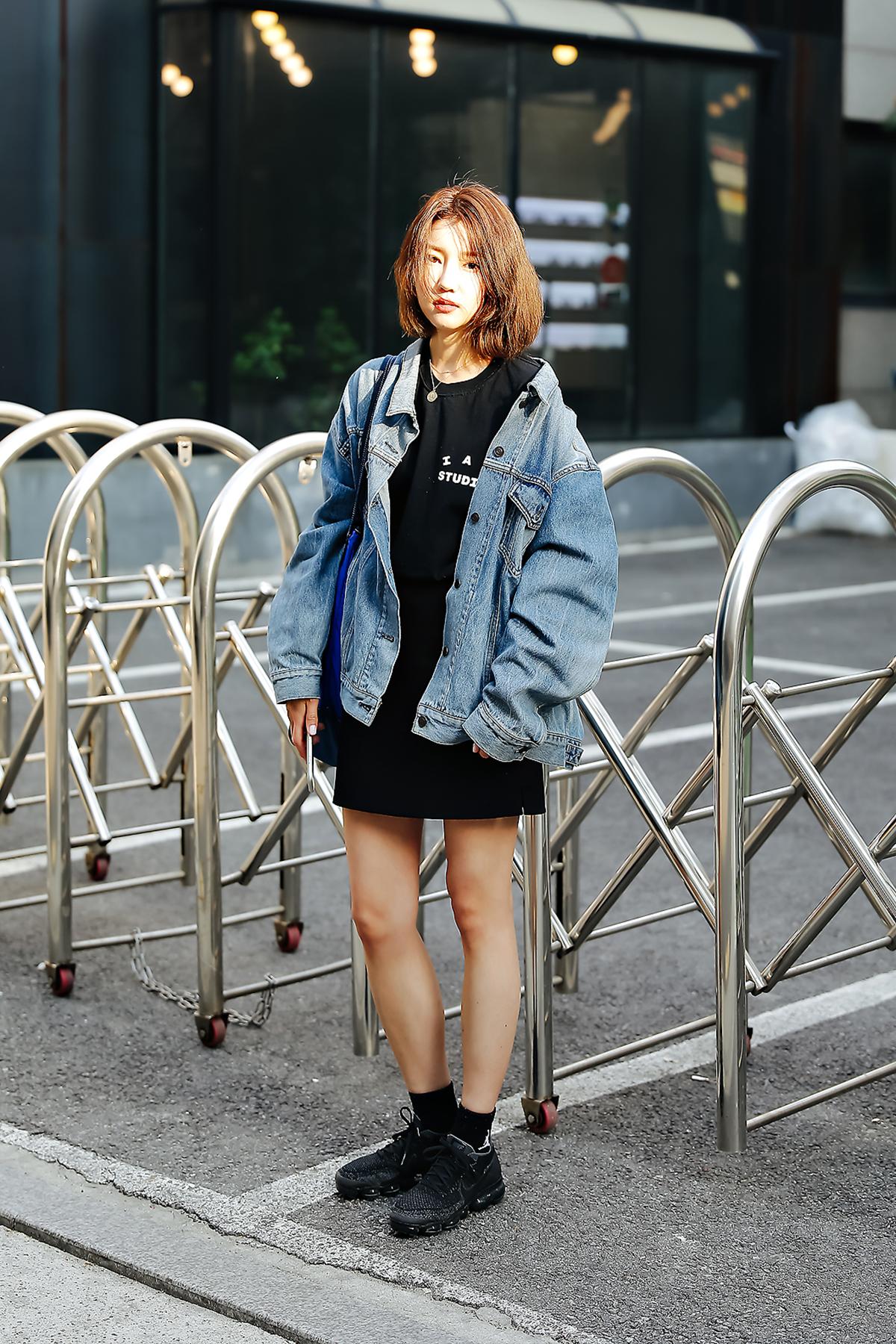 Gu Hyunmi, Street style women spring 2018 in seoul