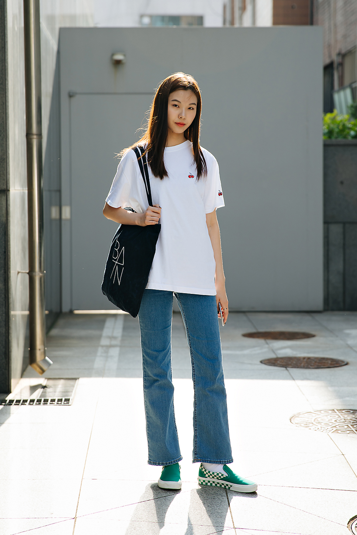 Kang Miji, Street style women spring 2018 in seoul