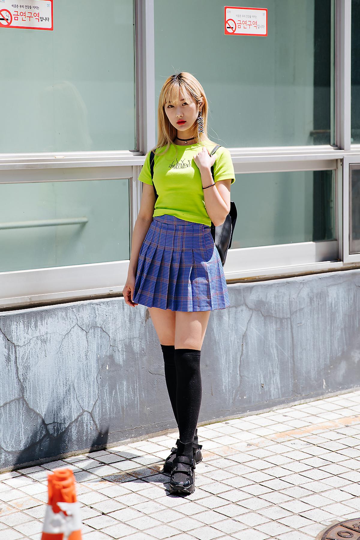 Kim Jiyoung, Street style women spring 2018 in seoul