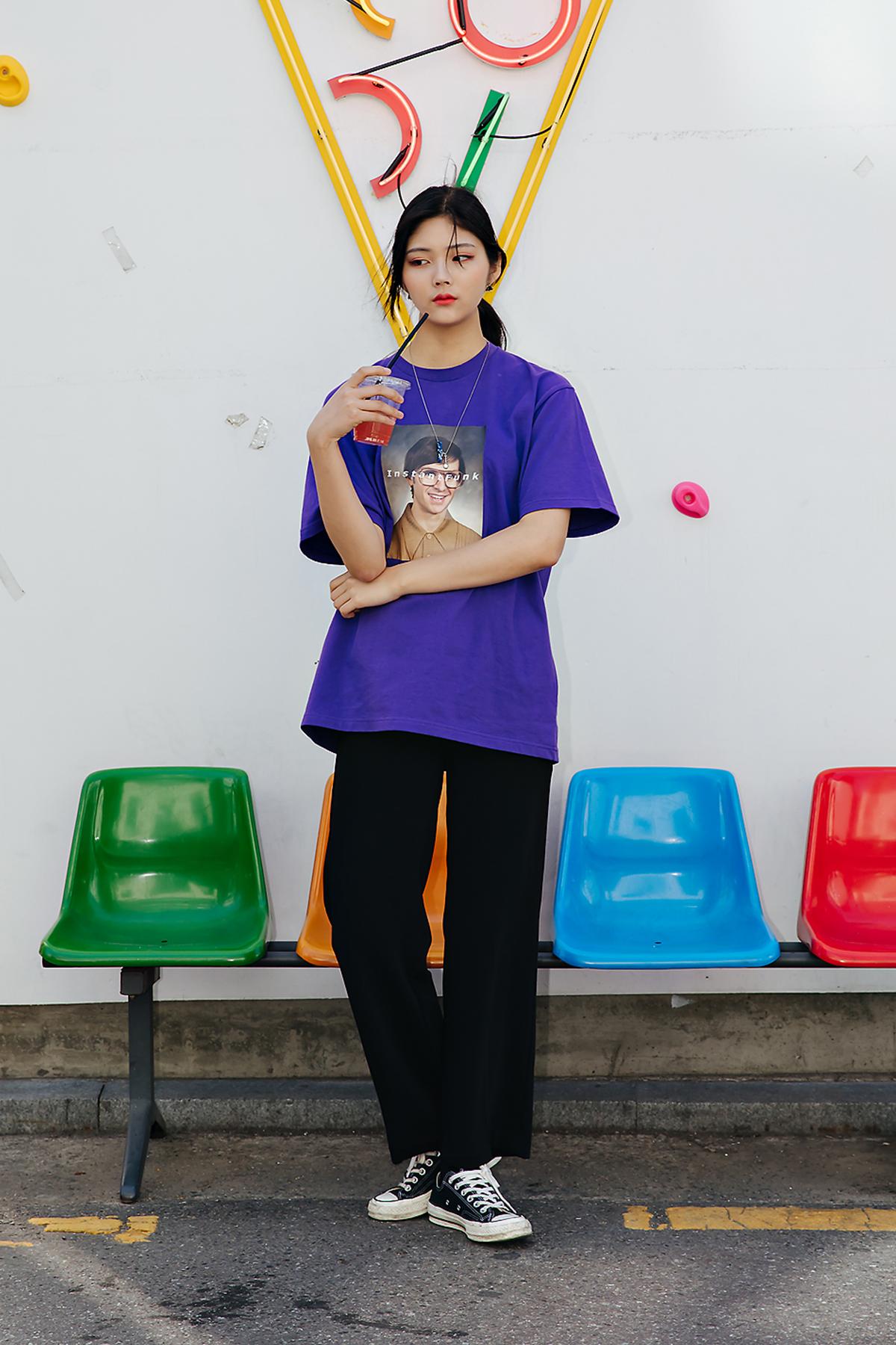 Kim Juri, Street style women spring 2018 in seoul