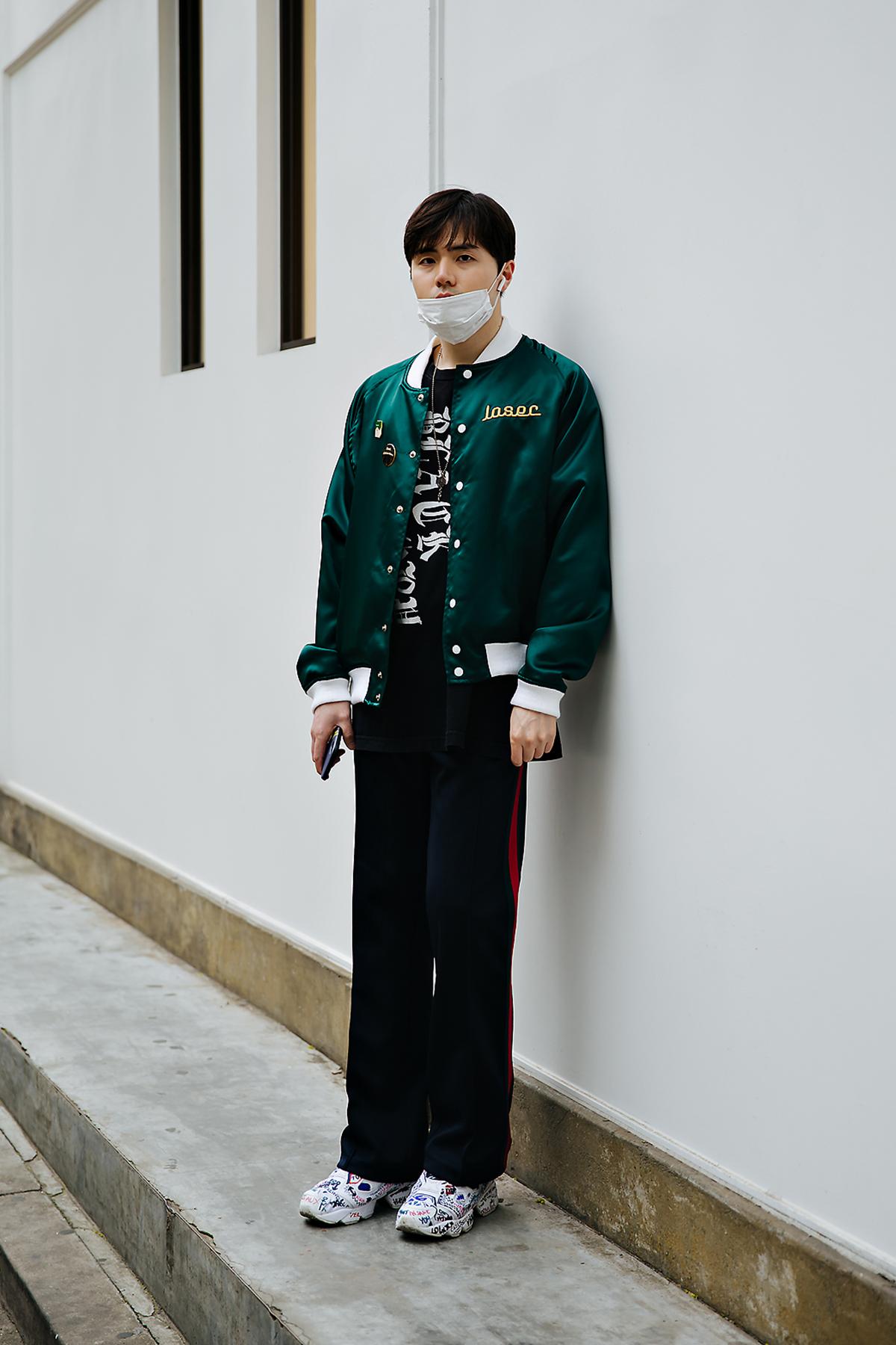Kim Wookyung, Street style men spring 2018 in seoul
