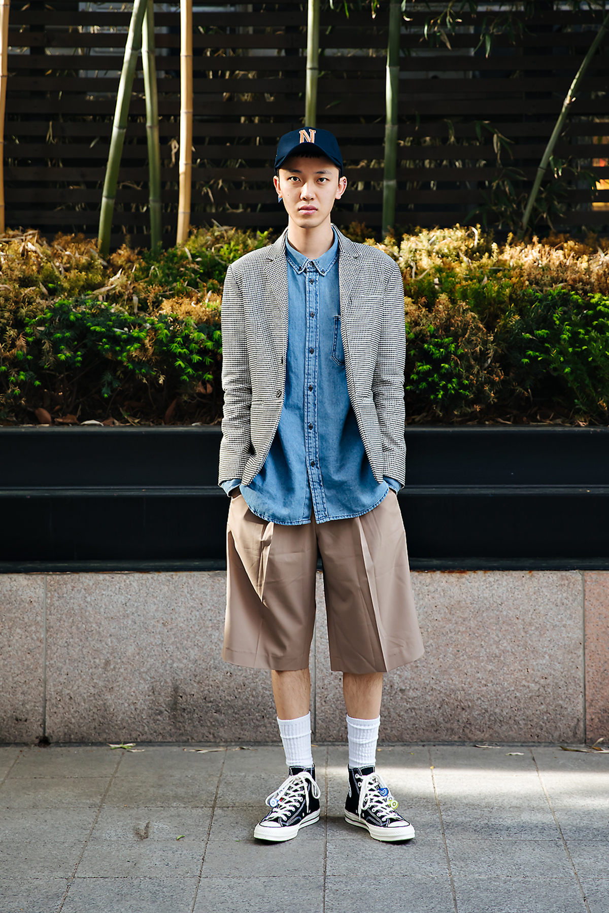 Kim Youngman, Street style men spring 2018 in seoul