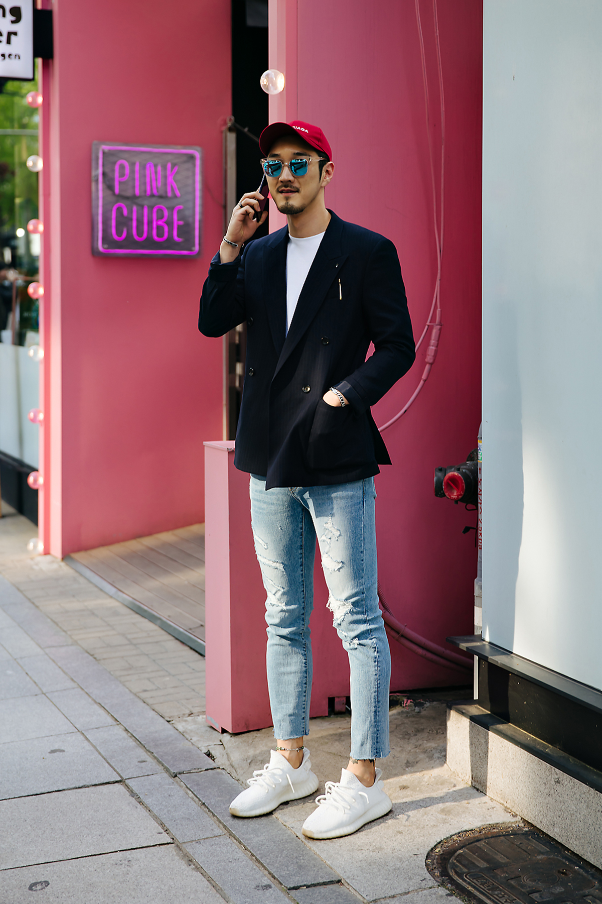 Lee Jinsan, Street style men spring 2018 in seoul