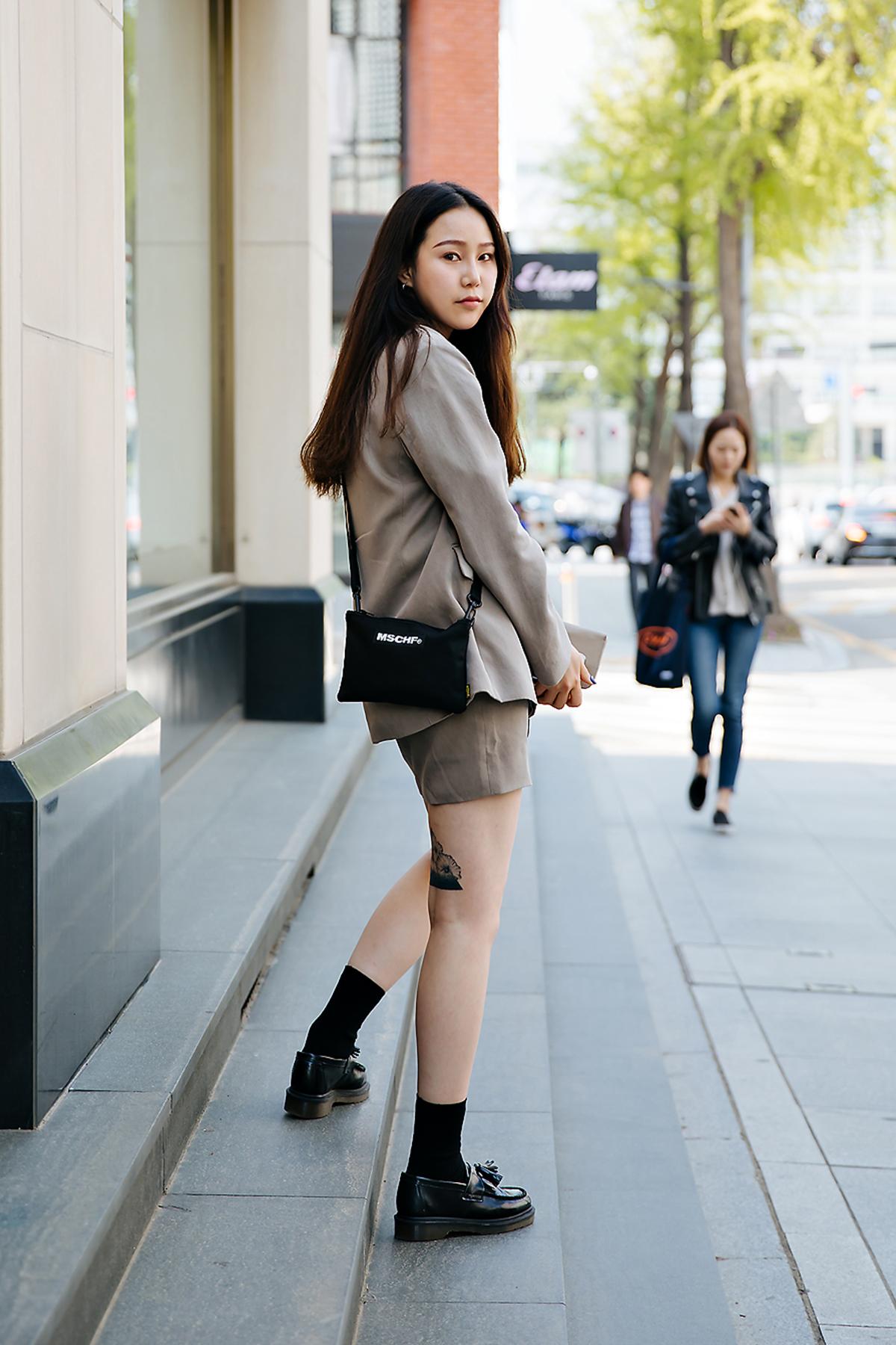 Lee Jisun, Street style women spring 2018 in seoul