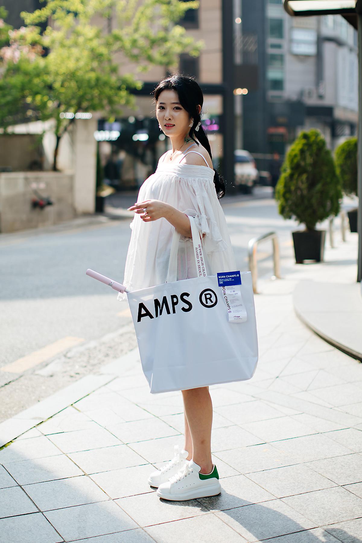 Lee Nakyung, Street style women spring 2018 in seoul