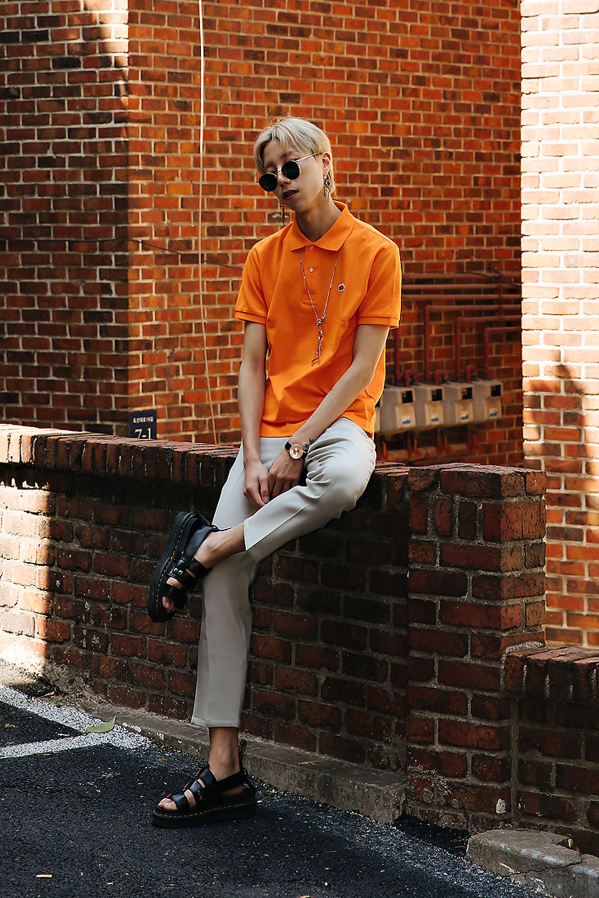 Lee Taegil, Street style men spring 2018 inseoul