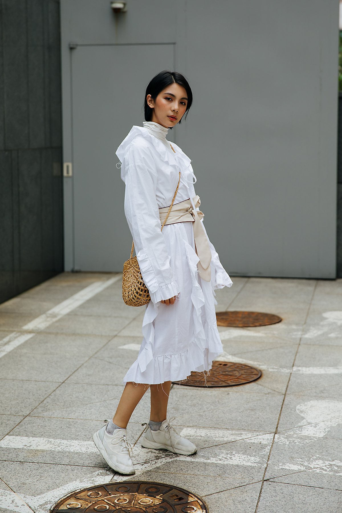 May Yu, Street style women spring 2018 in seoul