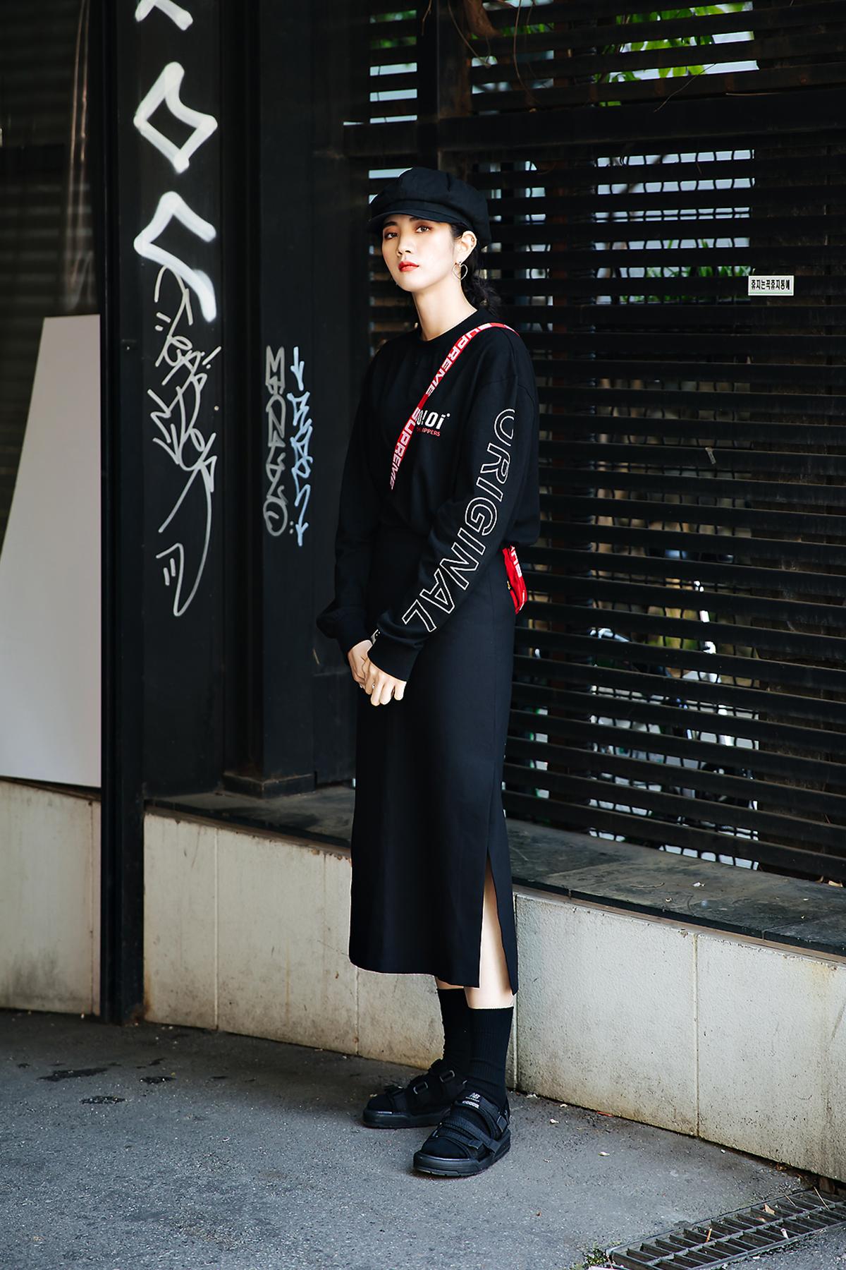 Min Jiwon, Street style women spring 2018 in seoul