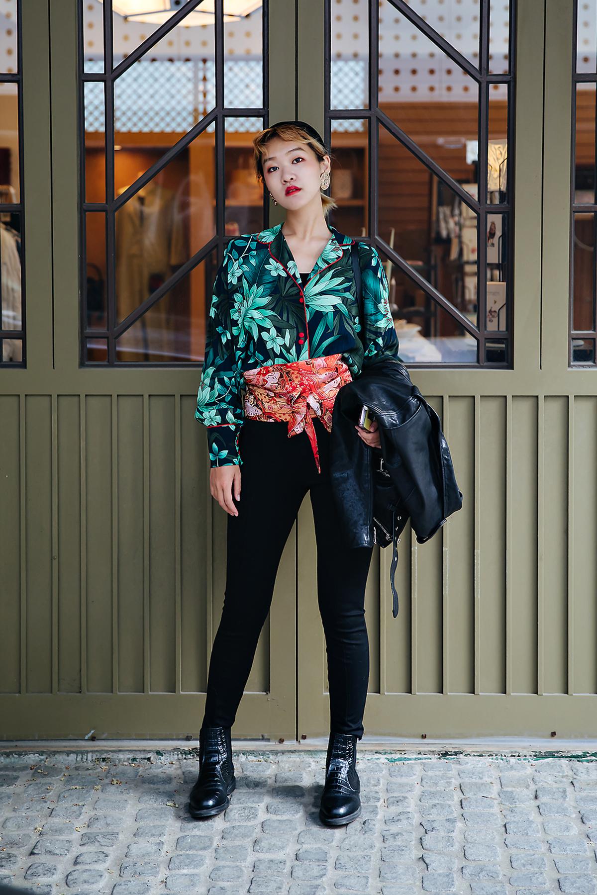 Min Seoyoung, Street style women spring 2018 in seoul