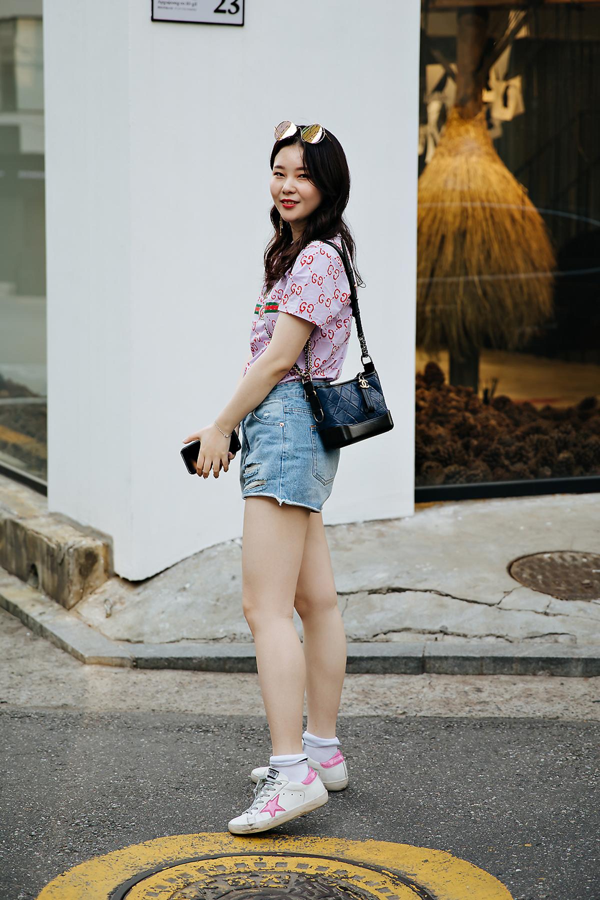 Momo, Street style women spring 2018 in seoul
