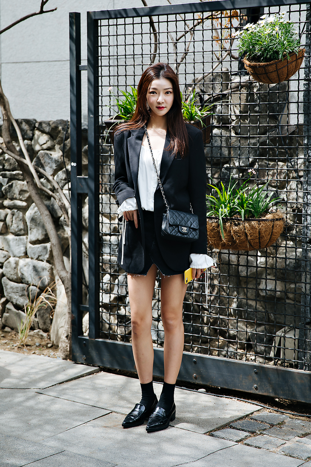Oh Hanbyeol, Street style women spring 2018 in seoul