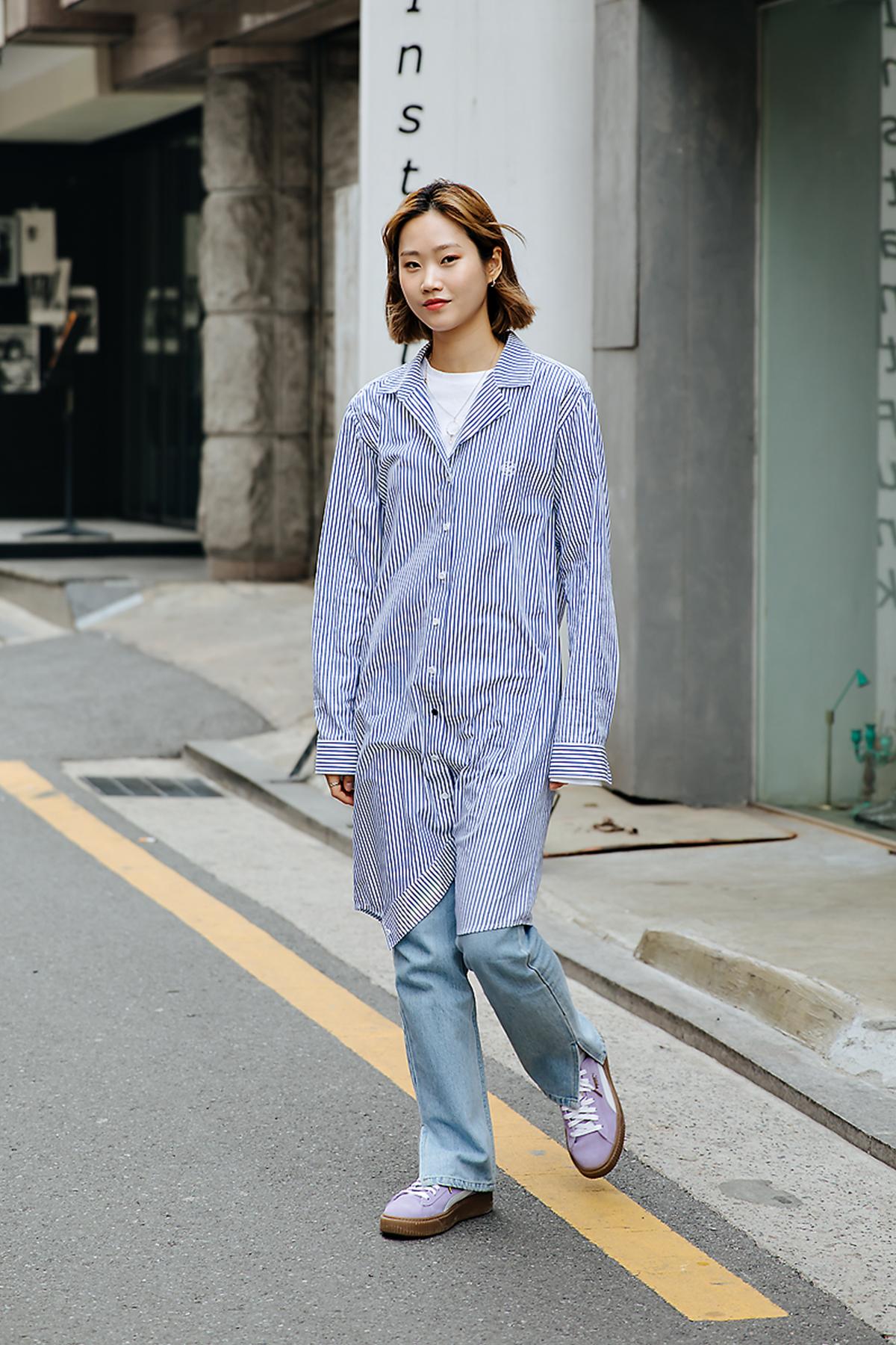 Park Jiae, Street style women spring 2018 in seoul