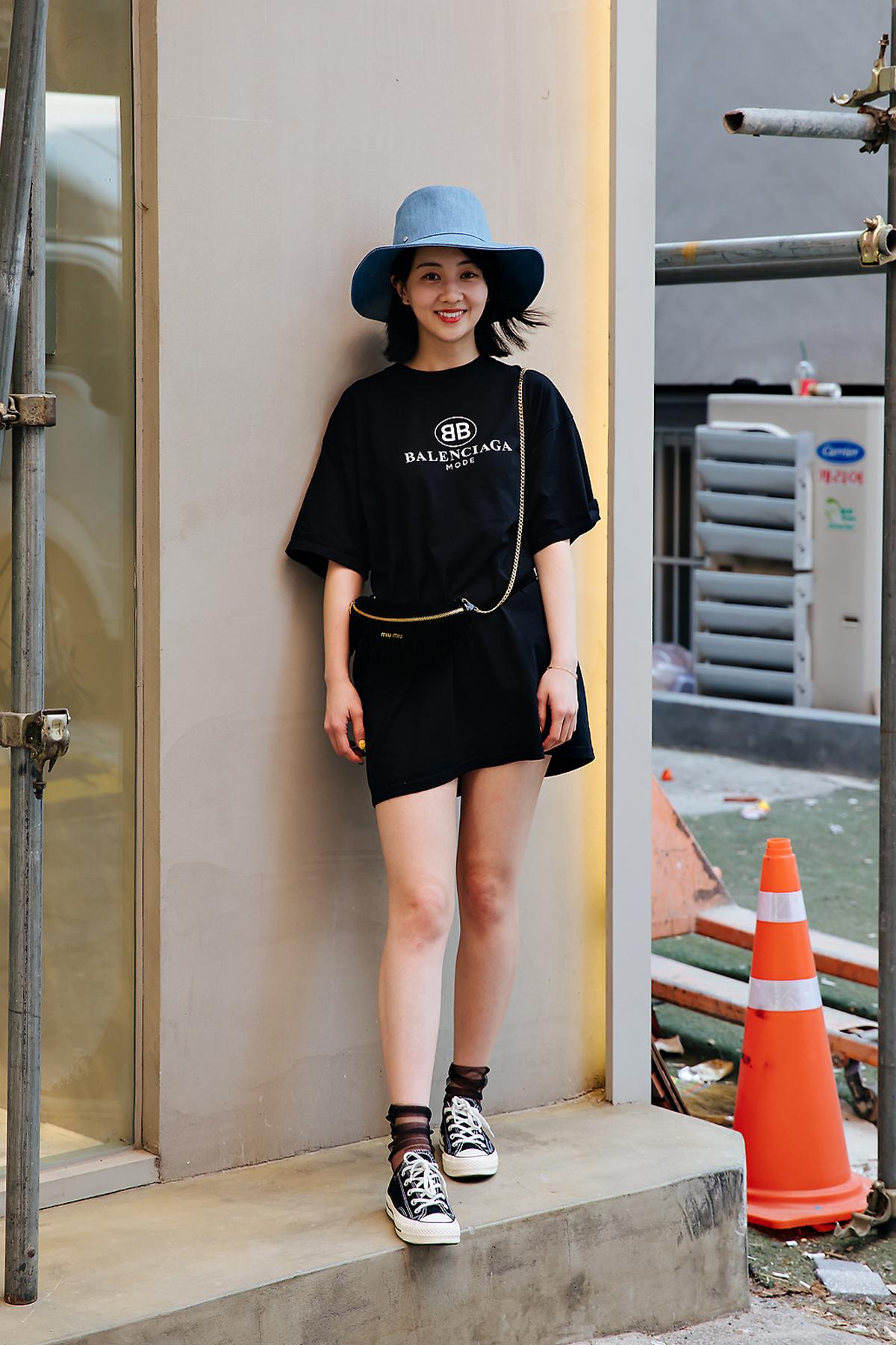 Sandy, Street style women spring 2018 in seoul
