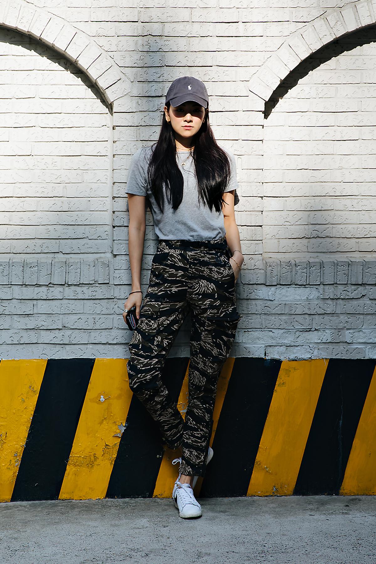 Son Hyoeun, Street style women spring 2018 in seoul