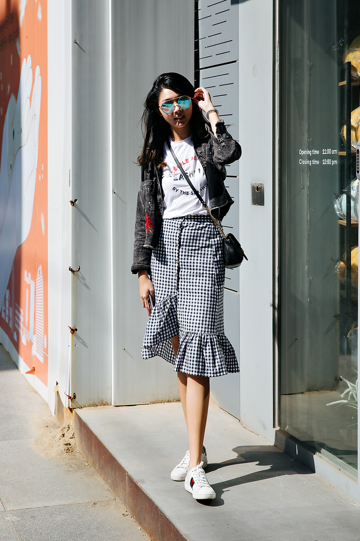 Yingying, Street style women spring 2018 in seoul