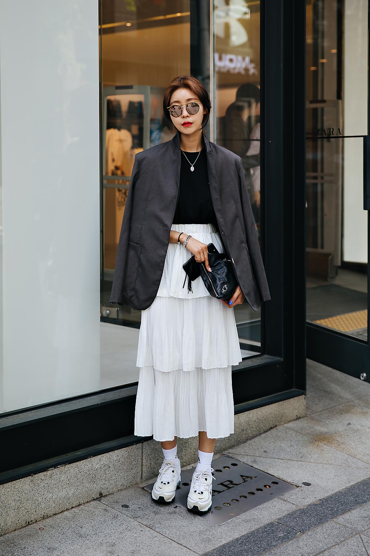 Yoon Soyeon, Street style women spring 2018 in seoul