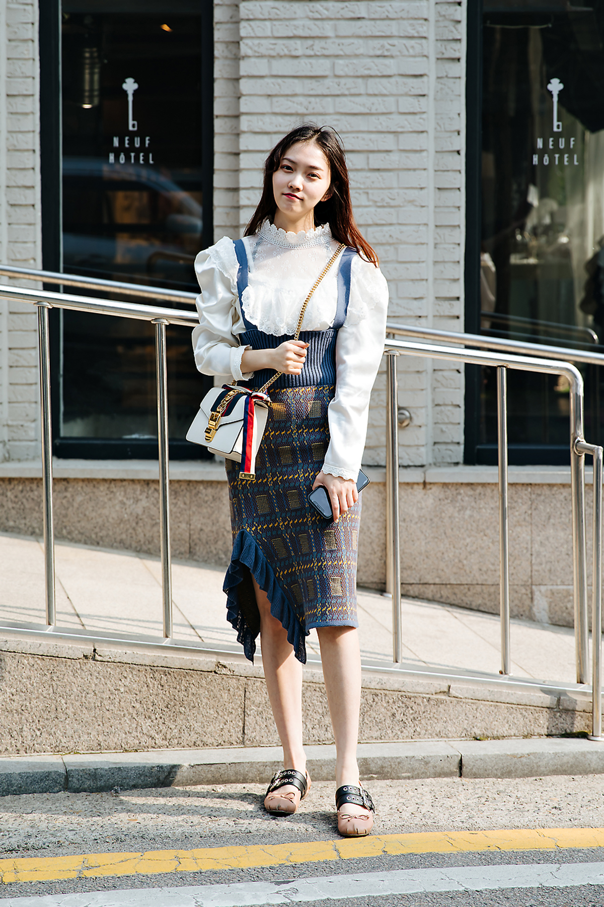 Zhangyiming, Street style women spring 2018 in seoul