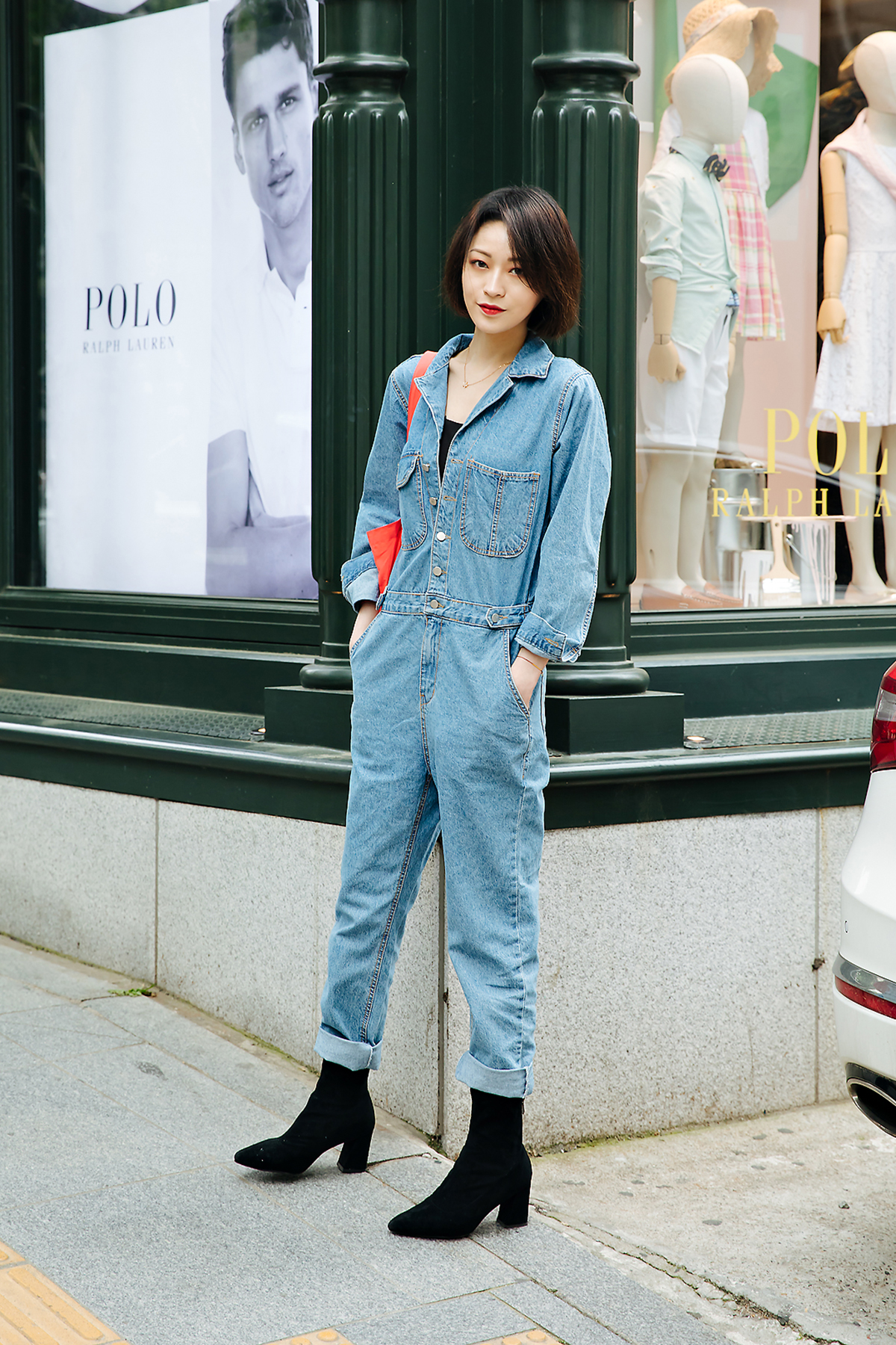 Dong Sintong, Street style women spring 2018 in seoul