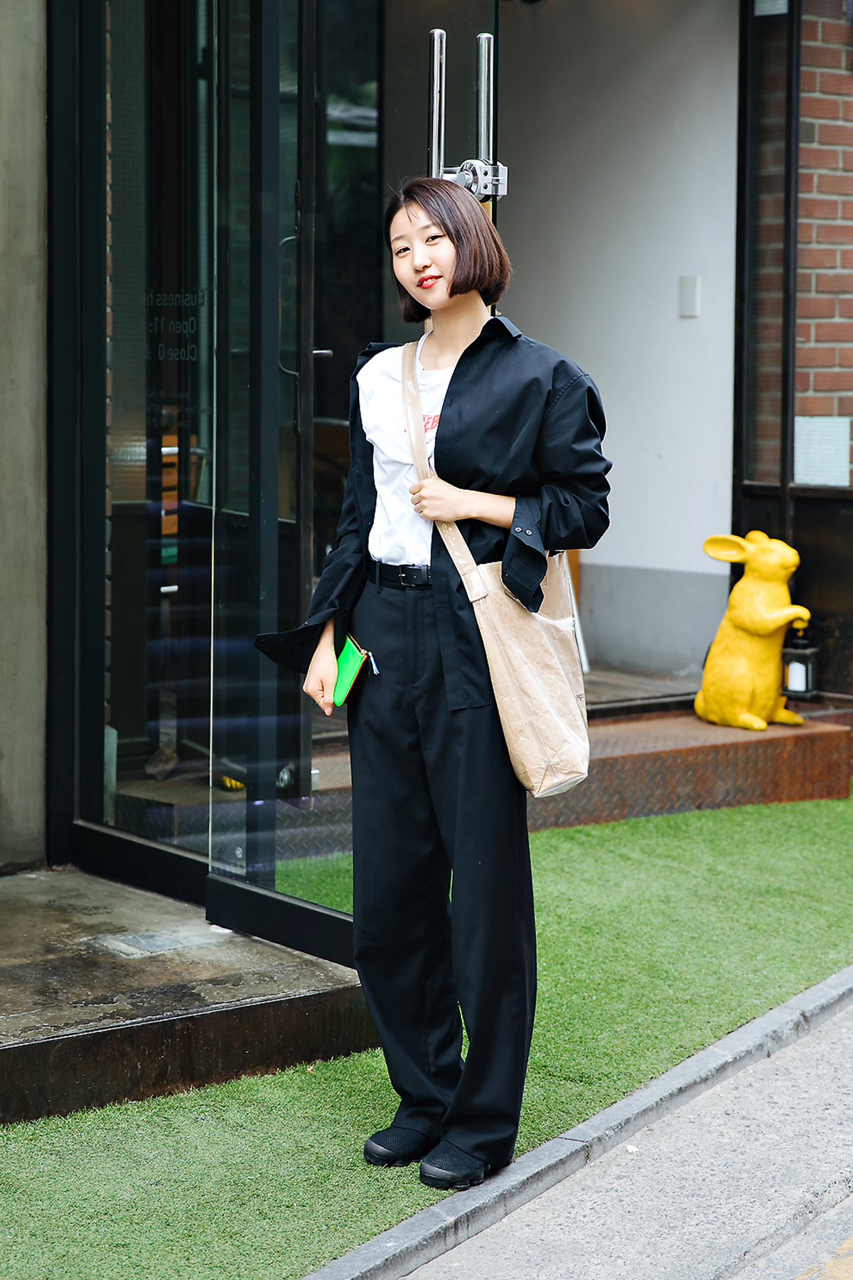 Jung Soyi, Street style men spring 2018 inseoul