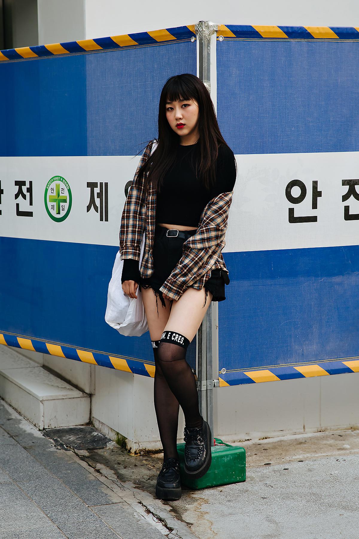 Kim Daeun, Street style women spring 2018 in seoul