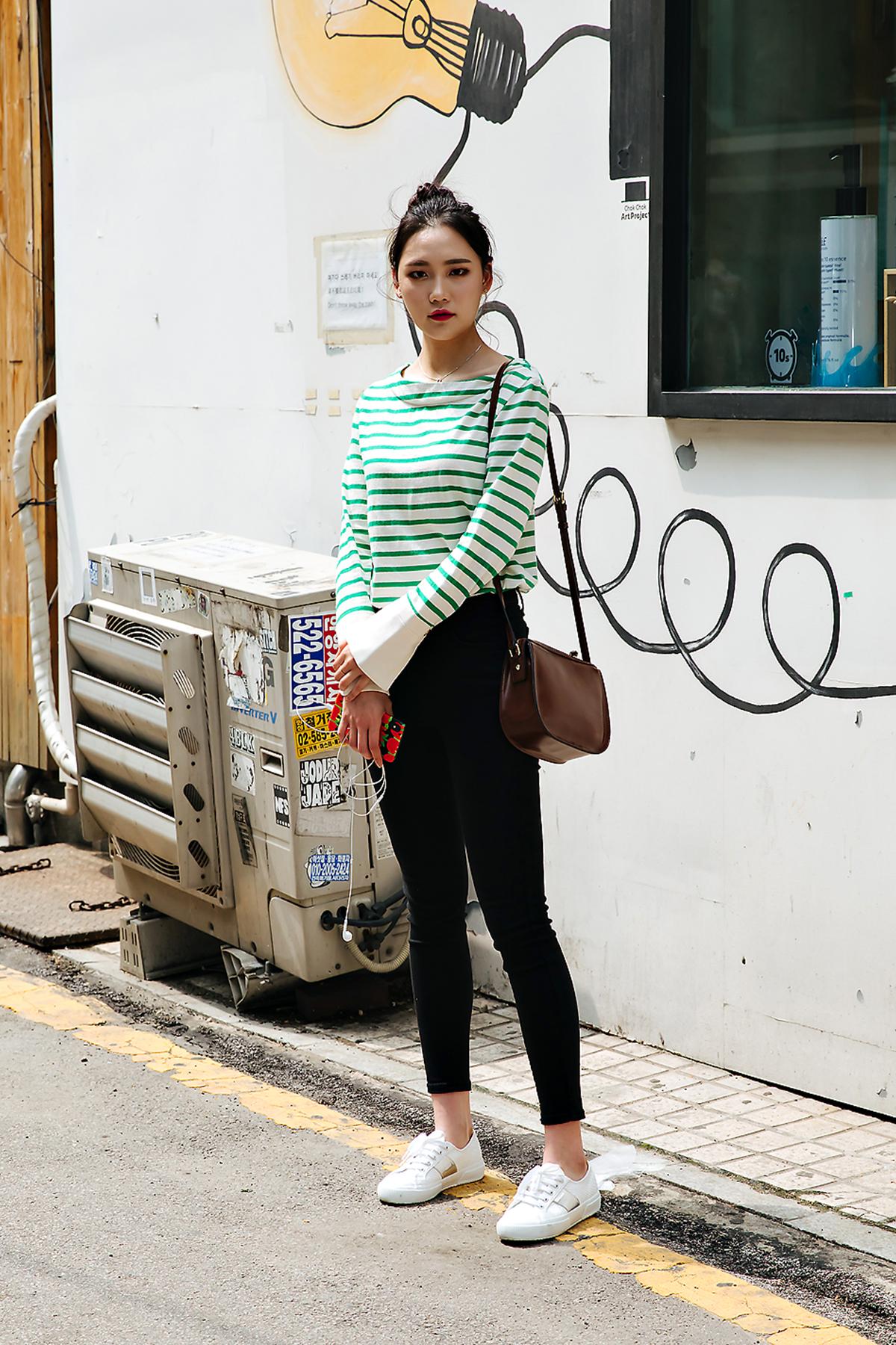 Kim Eunsoo, Street style women spring 2018 in seoul