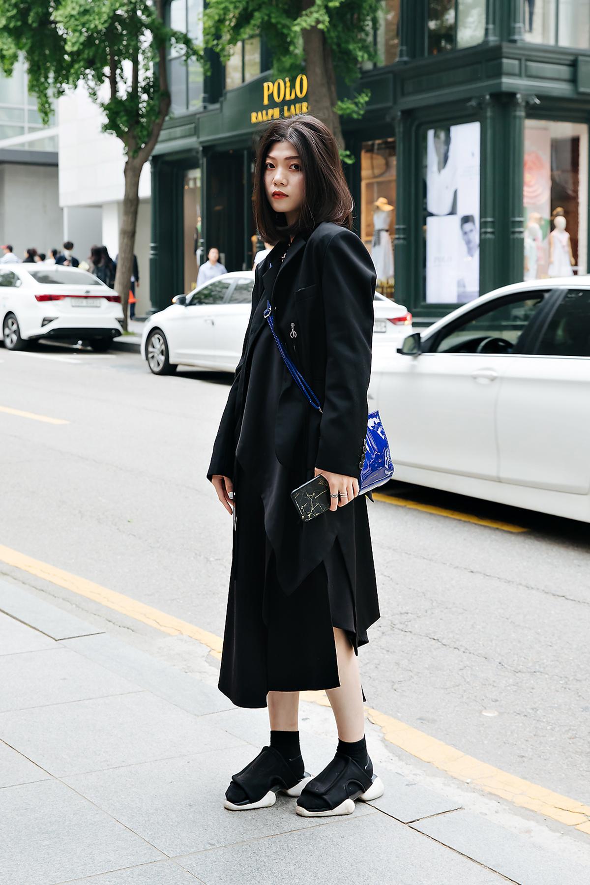 Kiubychow, Street style women spring 2018 in seoul