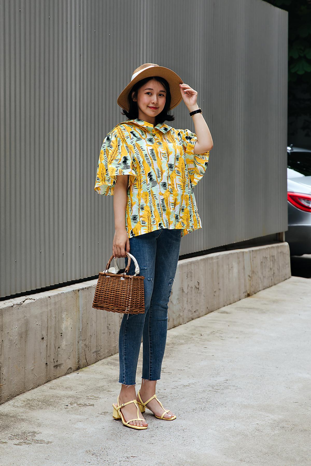 Lee Jinki, Street style women spring 2018 in seoul