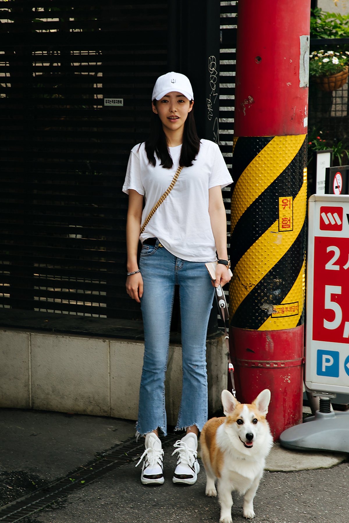 Yoon Siyoung, Street style women spring 2018 in seoul