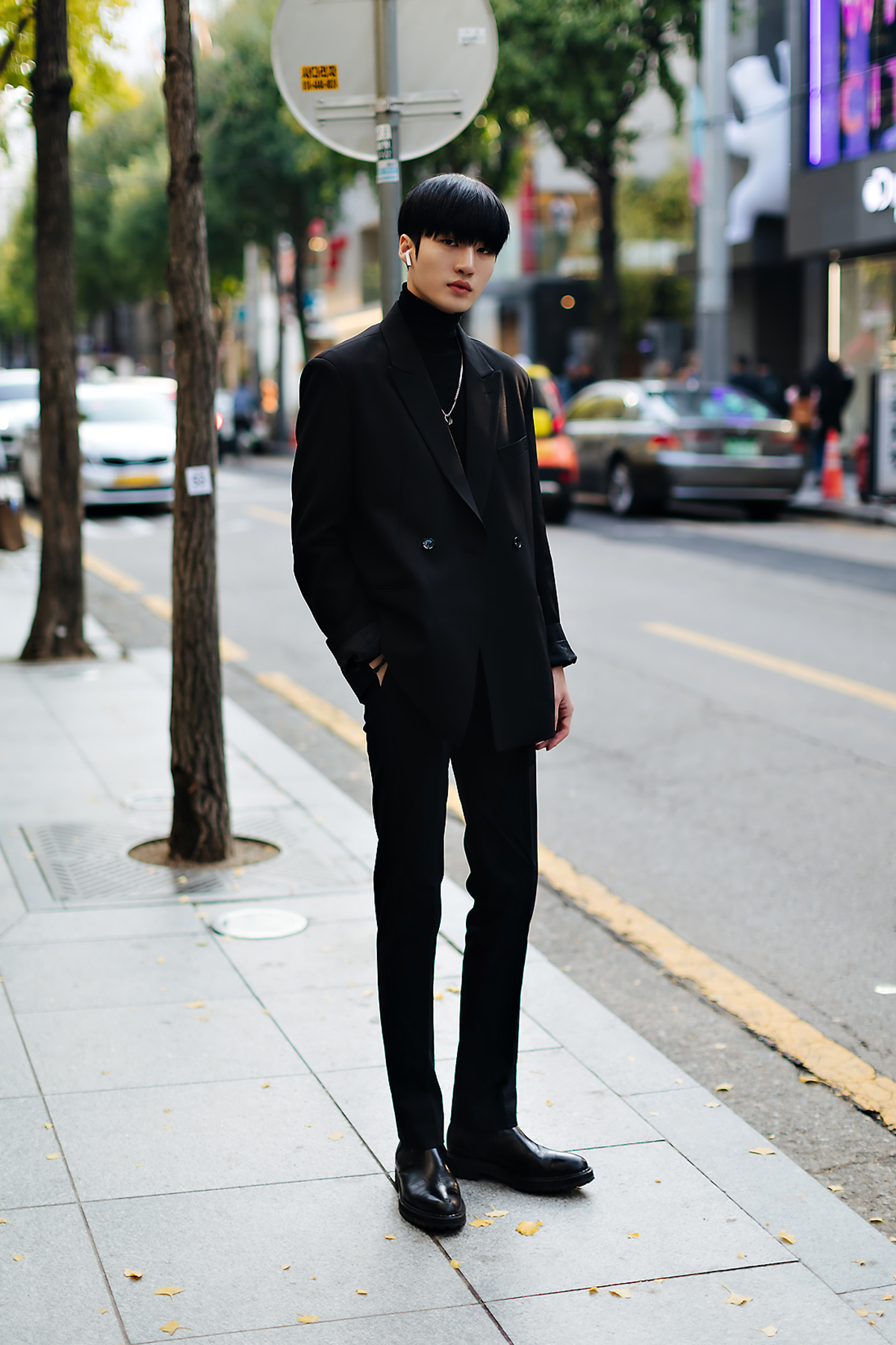 Men fall street style fourth week of october 2018 in seoul10