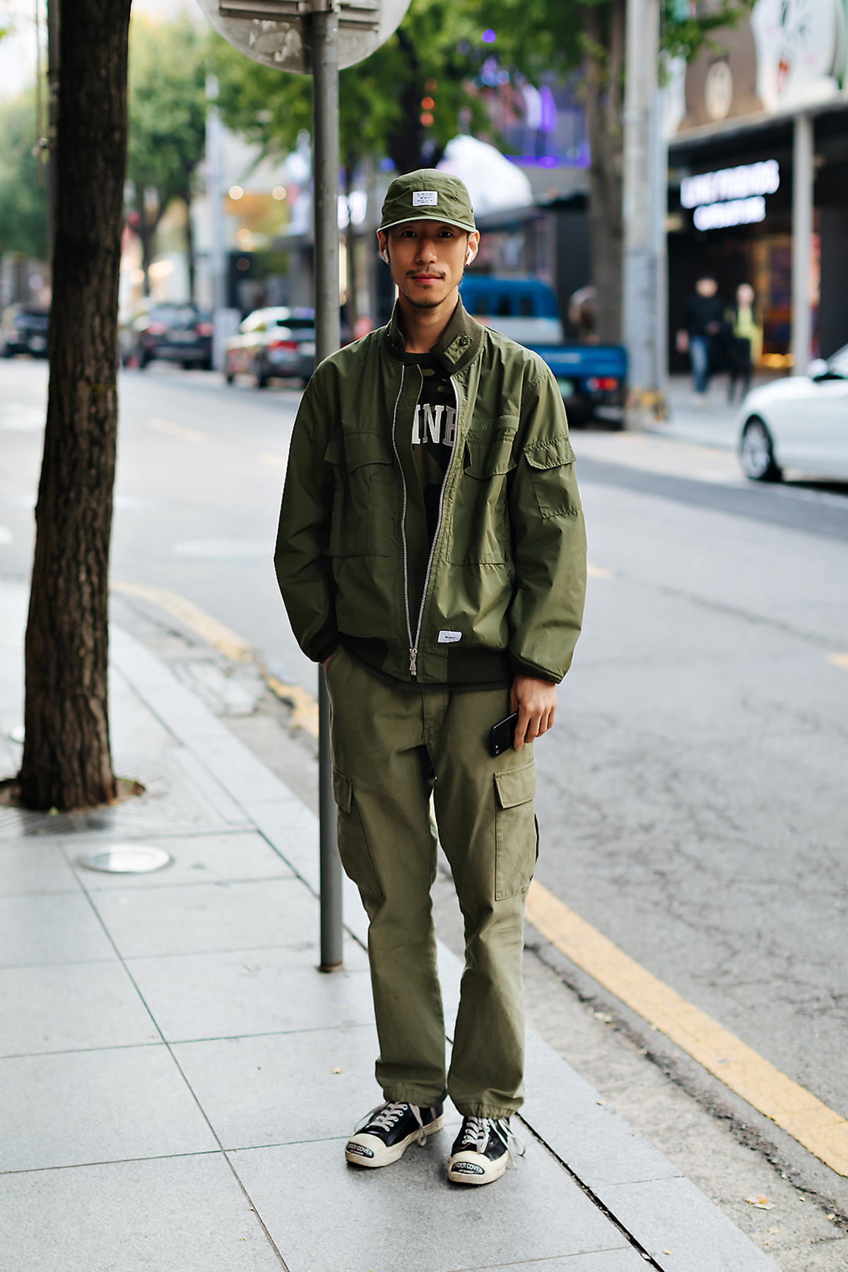 Men fall street style fourth week of october 2018 in seoul8