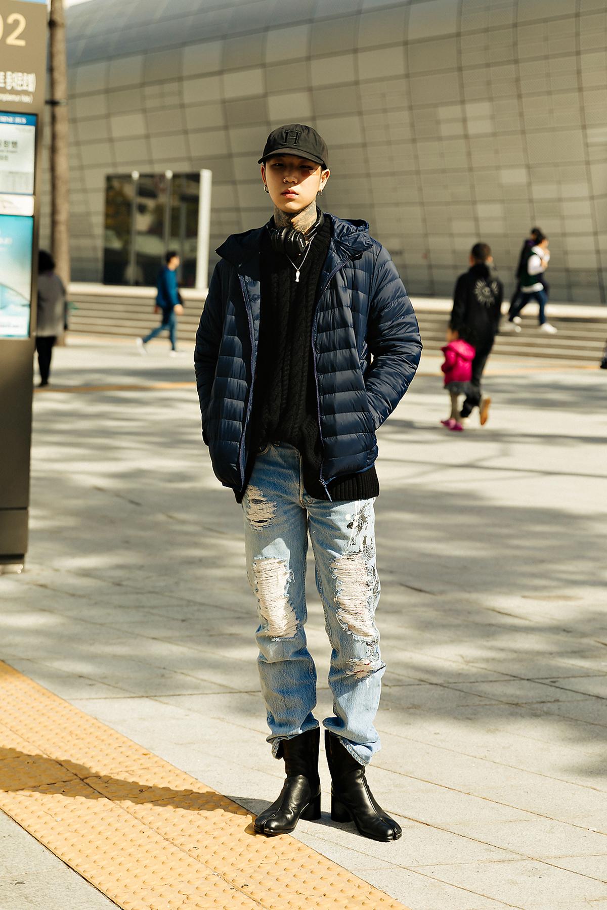 MUSINSA STANDARD LIGHT DOWN Menswear Hera Seoul Fashionweek 2019 SS1